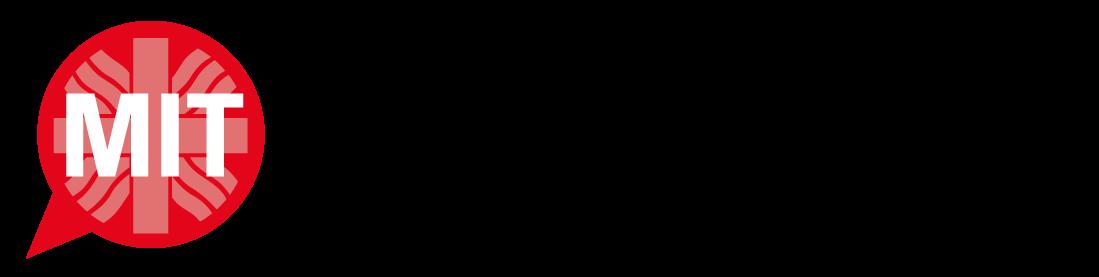 Logo MIT der Caritas Würzburg